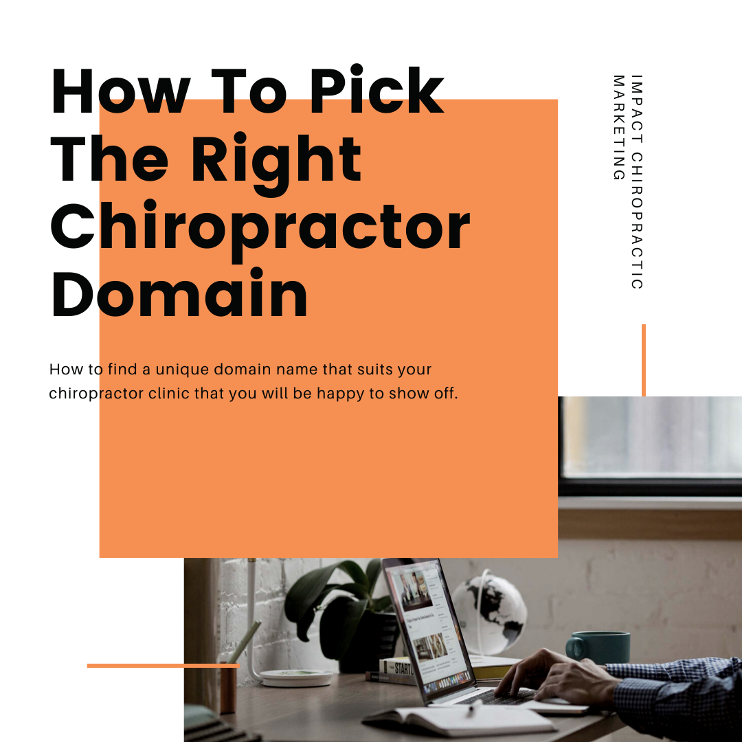 how to choose a chiropractor domain name
